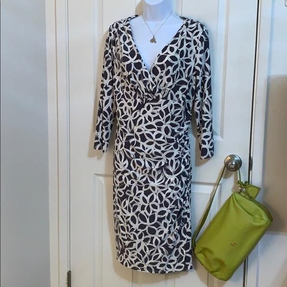 Beautiful and Versatile Faux Wrap Dress NWOT SZ 16